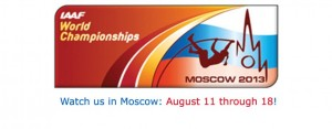 IAAF Moscow 2013 Competitions